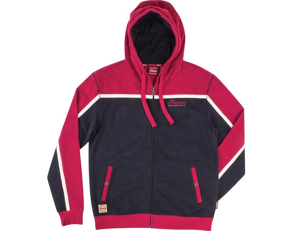 Red hoodie men