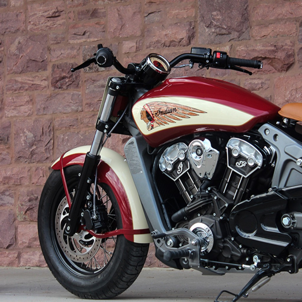 Indian Only Klassic Handlebars Indian Scout Sixty