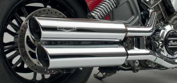 INDIAN REMUS EXHAUST EU4 MY 2017+ - SCOUT + BOBBER - CHROM